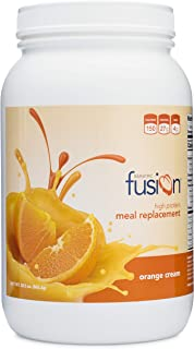 Bariatric Fusion Meal Replacement Protein 21 Serving Tub Orange Cream for Gastric Bypass & Sleeve Gastrectomy