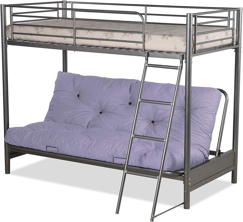 Humza Amani Futon Bunk Bed And With Pink Futon Mattress Top Mattress At Extra Cost Amazon Co Uk Home Kitchen
