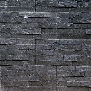 Sample Of Manufactured Stone Veneer Rock Valley Charcoal