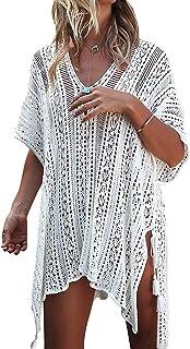 Swimsuit Cover ups for Women V Neck Loose Beach Bikini...