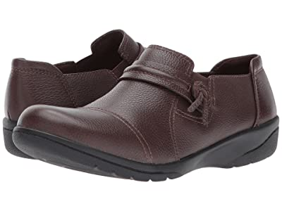 Clarks Cheyn Madi (Dark Brown Tumbled Leather) Women