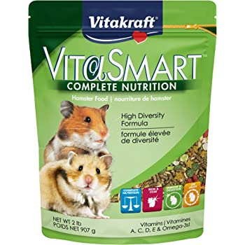 Vitakraft Menu Vitamin Fortified Hamster Food, 2.5 lb