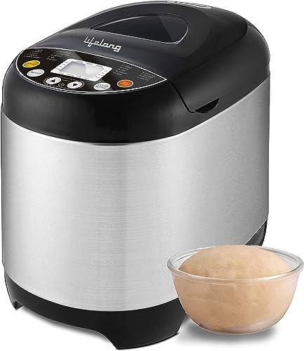 Lifelong Atta and Bread Maker 550 Watt 19 Pre Set Menu with Adjustable Crust Control