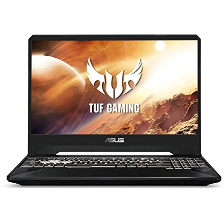 Asus TUF Laptop para Juegos, 15.6 Pulgadas, 144 Hz Full HD IPS, procesador Intel Core i7-9750H, GeForce GTX 1650, 8 GB DDR4, 512 GB PCIe SSD, Gigabit Wi-Fi 5, Windows 10 Home, FX505GT-AB73