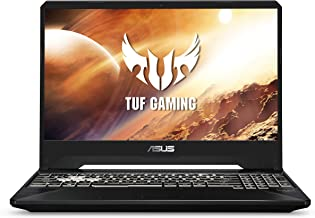 "ASUS TUF FX505 Flagship 15.6"" Full HD IPS Gaming Laptop, AMD Ryzen 7 R7-3750H up to 4.0GHz, 16GB DDR4, 512GB NVMe SSD, NVIDIA GTX 1650, Webcam, Bluetooth, HDMI, RGB Backlit Keyboard, Windows 10"