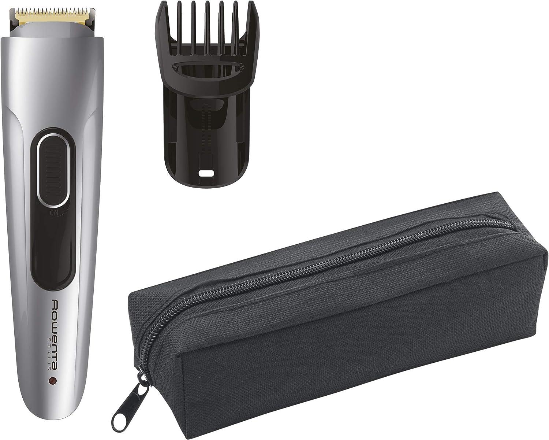 Rowenta TN2850 Stylis - Cortapelos para barba, ajuste de precisión de 1 mm, 90 minutos de autonomía