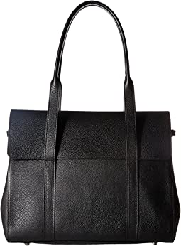 Luxe Grain Soft Satchel