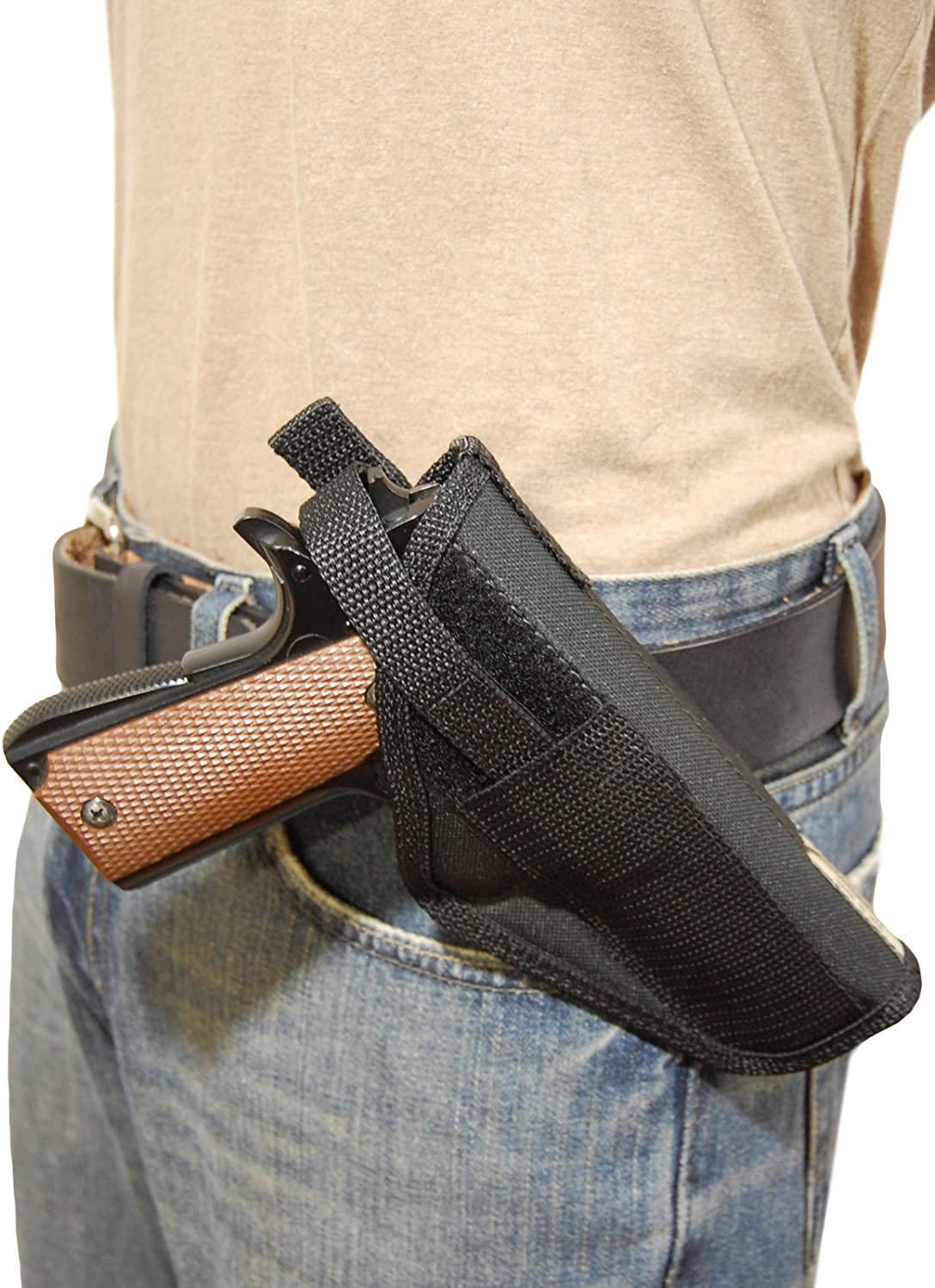 Barsony New Concealment Cross Draw High material Gun 9mm Size Holster for OFFicial store Full