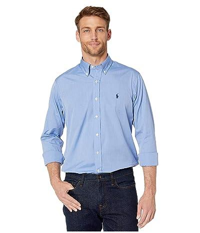 Polo Ralph Lauren Poplin Sport Shirt (Blue End on End) Men