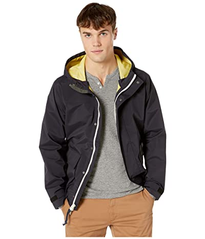 J.Crew Three Layer Rain Jacket (Navy Honey) Men