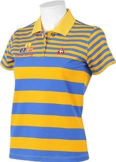 (ルコックスポルティフ/ゴルフコレクション)Le Coq Sportif/Golf Collection ゴルフ 半袖ニットシャツ QGL2605 [レディース]