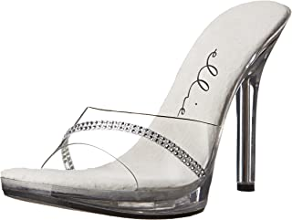 Ellie Shoes Womens 502-jesse 502-jesse Transparent Size: