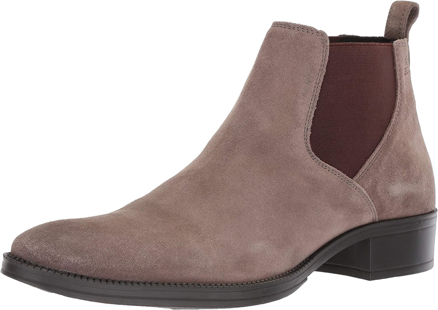 Geox Womens Laceyin Suede Chelsea Boot Ankle Boot