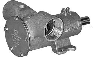 Jabsco 18370-0000 Marine Pulley Driven Flexible Impeller Pedestal Mount Pump (83-GPM, Neoprene Impleller, Full Cam, Mechanical Seal, 2