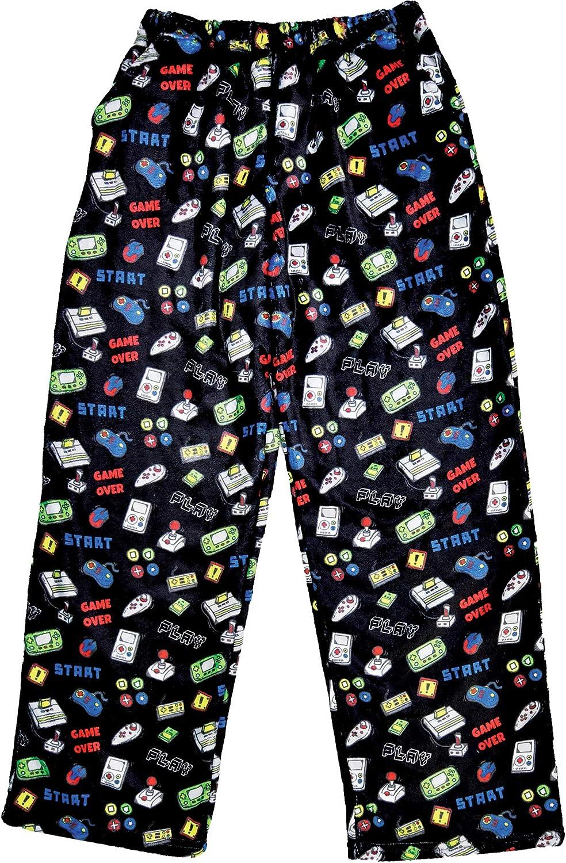iscream Big shop Boys Silky Soft Plush - Pants Gamer Fleece Free shipping / New Collectio