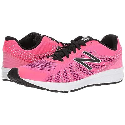 New Balance Kids Rush (Big Kid) (Pink/Black) Girls Shoes