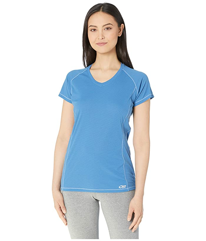 Outdoor Research Echo Short Sleeve Tee (Lapis) Women