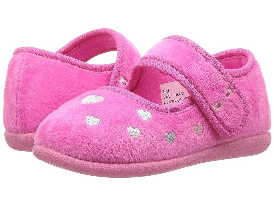Foamtreads Kids Sweetheart FT (Toddler/Little Kid) (Fuchsia) Girls Shoes