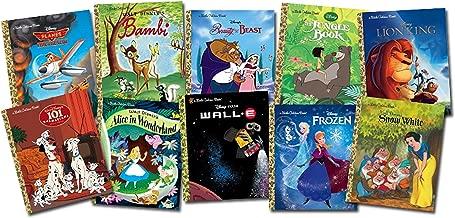 Disney Movies Little Golden Book Bundle 35-copy set