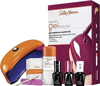 Sally Hansen Salon Insta Gel Strips Starter Kit, Wine Not