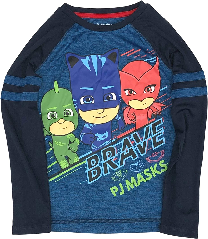 Jumping Beans Active Boys Silky Long Sleeve Blue PJ Masks T-Shirt Tee Shirt