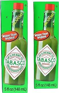 TABASCO Green Pepper Sauce 2-5 oz. Bottles