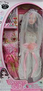 Perpetual Bliss Pretty Fashion Stylish Blonde Hair Baby Doll for Girls with Movable Legs and Arms with Accessories