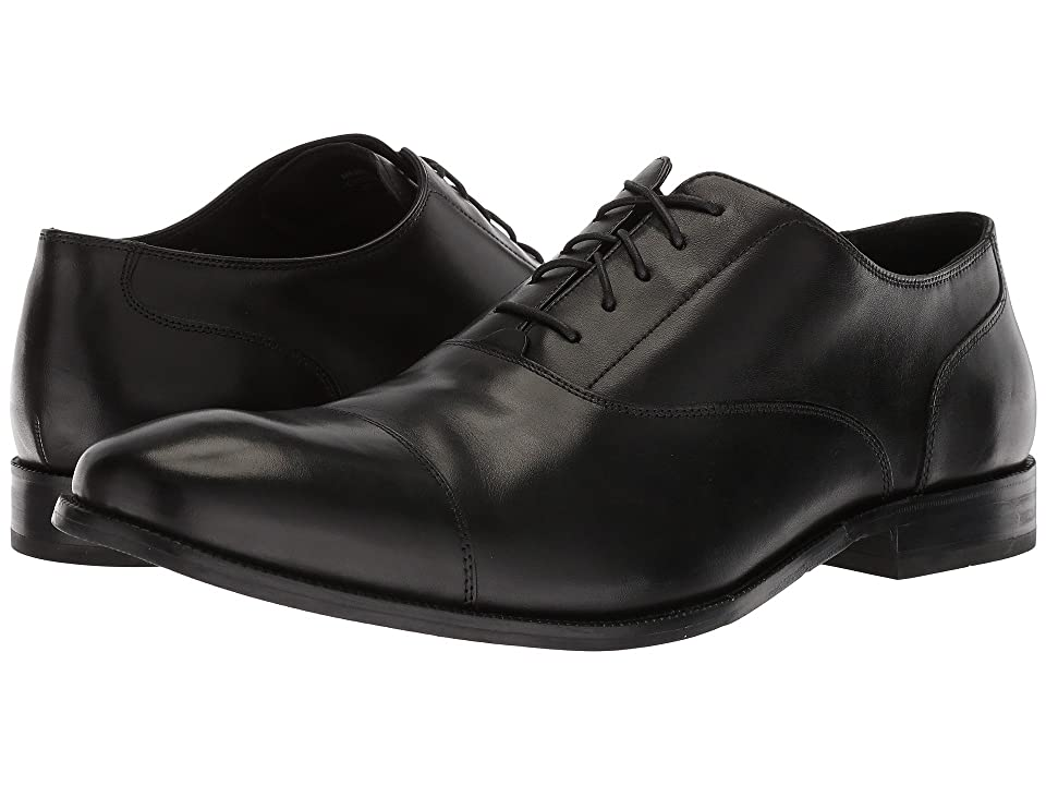 Cole Haan Williams Cap Toe II (Black) Men