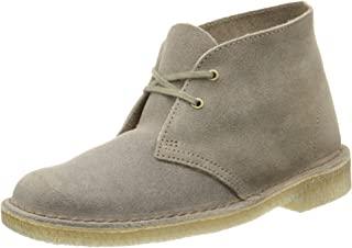[クラークス] Women's Desert Boot Taupe Distressed 26070304