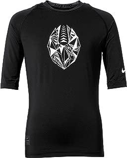 Pro Boys Half-Sleeve Football Compression Shirt