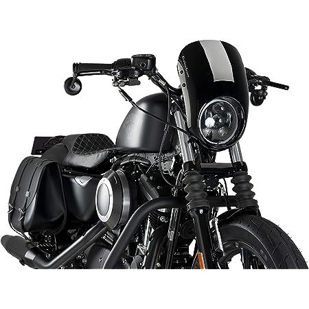 Scheinwerfer Frontmaske Für Harley Davidson Sportster 883 Iron 09 20 Schwarz Auto