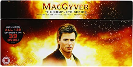 MacGyver_(TV_Series) [Reino Unido] [DVD]