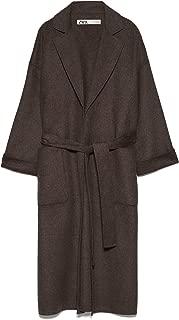 Zara Women Coat with Patch Pockets 7522/249