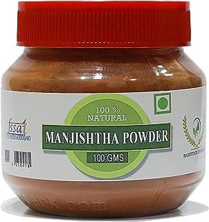 Raintech Herbals Manjistha Root Powder , Rubia Cordifolia (Indian Maddar) 100 gm