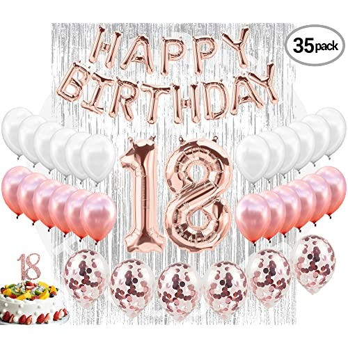 18th BIRTHDAY DECORATIONS 18 Birthday Party Supplies