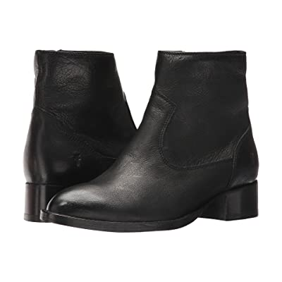 Frye Brooke Short Inside Zip (Black) Women