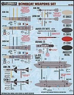 FUR48053 1:48 Furball Aero Design F-14 Tomcat 'Bombcat' Weapons Set Decals [WATERSLIDE DECAL SHEET]