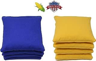 Free Donkey Sports Regulation Cornhole Bags. Set of 8. Corn-Filled. 25+ Colors