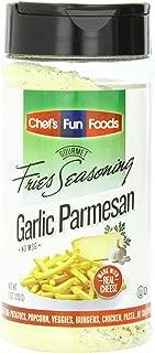 Gourmet Fries Seasonings Bottle, Garlic Parmesan, 9 Ounce