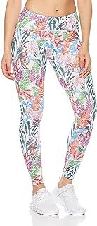 7Goals Women's Printed Legging Ultra Soft Workout Yoga Pants