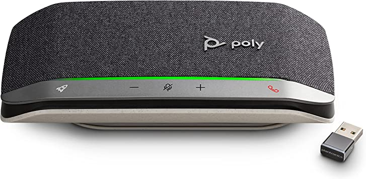 Poly - Sync 20+ Bluetooth Speakerphone. Noise & Echo Reduction