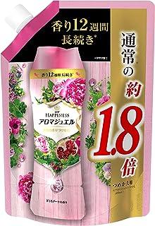 レノア ハピネス アロマジュエル ビーズ 衣類の香りづけ専用 ざくろブーケ 詰め替え 約1.8倍(805mL/482g)