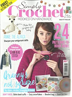 SIMPLY CROCHET, HOOKED ON HANDMADE, ISSUE 52 MAKE THIS GORGEOUS GIRL TODAY.