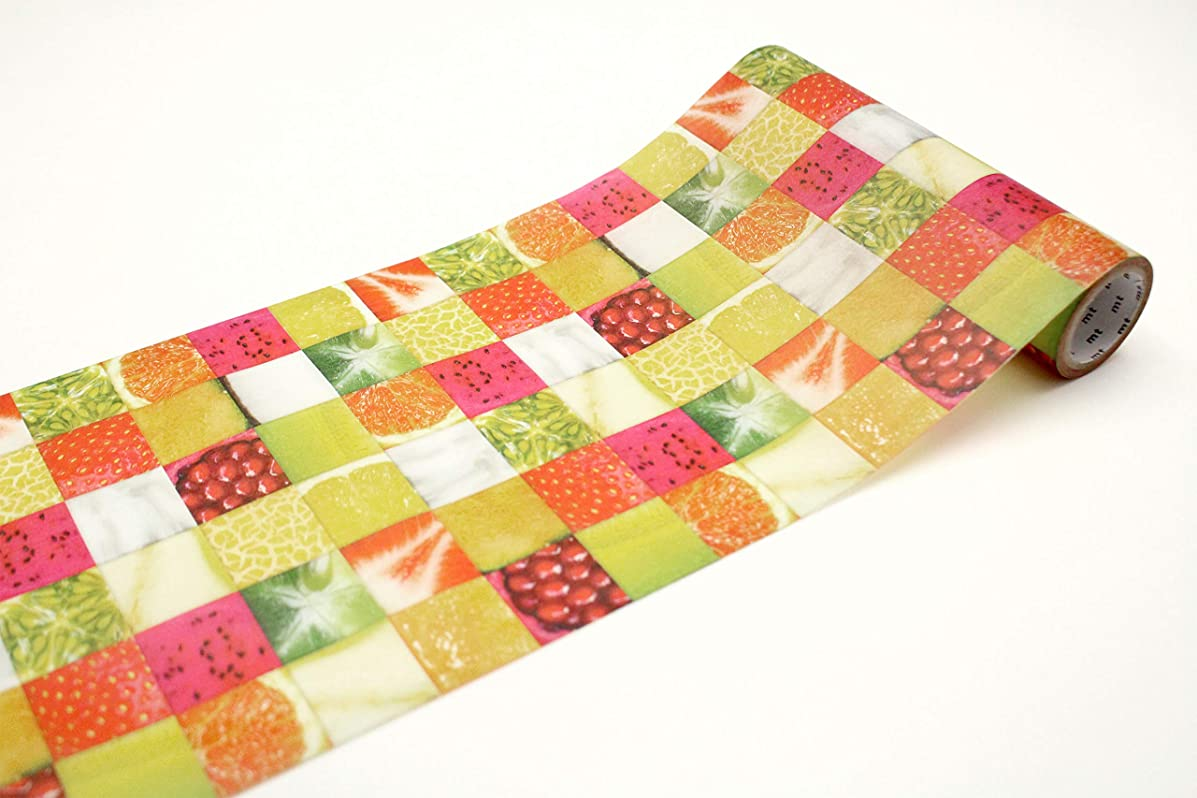 mt wrap fruits tile tropical gift wrap 155mm x 5m