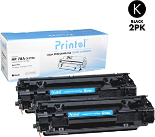 Printel Replacement Toner Cartridge for HP 78A (CE278A) Black (2 Pack)