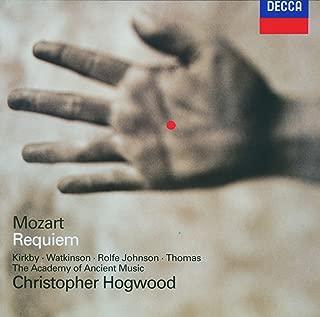 Mozart - Requiem / Kirkby · Watkinson · Rolfe Johnson · D. Thomas · AAM · Hogwood