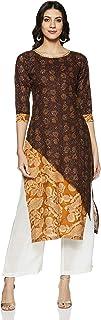 Soch Women's Cotton Straight Salwar Suit Set