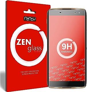 ZenGlass nandu I [2-pack] Flexibel glasfilm kompatibel med Alcatel Idol 4 Pro I skärmskydd 9H I (mindre än den böjda bilden)