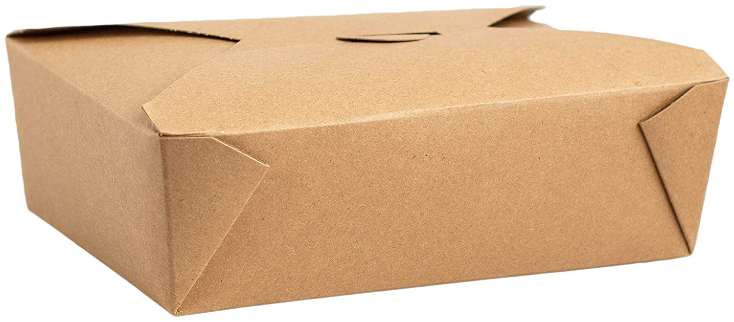 Made in USA 50-Count Recycled Take - Leak Out Brown Ranking TOP19 Boxes Kraft Over item handling ☆