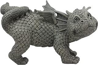 Ebros Whimsical Peeing Garden Dragon Statue 12